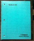 Spiral Bound Ruled Notebooks