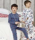 Boys Checked Nightwear