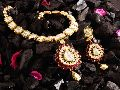 Diamond Polki Necklace ( String )