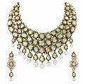 Diamond Polki Royal Necklace
