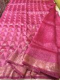 Pure Tussar Silk Linen Sarees