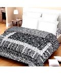 Black Patchwork Bed Linen