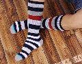 Mens Striped Socks