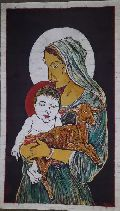 Mother Mary With Baby Jesus Paintings