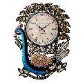 HV17115 Peacock Wall Clock
