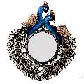 HV1780 Peacock Wall Mirror