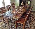 Recycled Dining Table Set