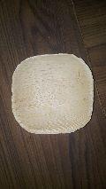 Areca leaf square plate 4