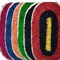 A V Creation cotton door mat set of 6