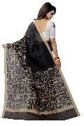Madhubani Black Sarees