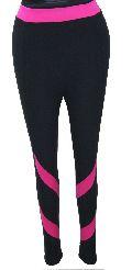 Black & Pink Jeggings