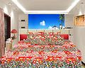 3D Bedsheet With Pillow Covers