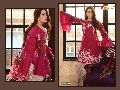 cambric cotton printed salwar kameez, embroidered salwar kameez