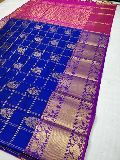 Kanchi kuppadam pattu sarees with blouse