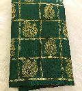 Pure kanchipuram silk handwoven 3g pure silver zari saree with contrast blouse