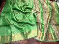 pure tussar tissue silk sarees