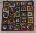 Crochet Square Cushion Cover