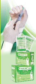 Sterile Powder Free Chlorinated Sterile Latex Surgical Gloves