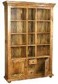 Wooden Bookshelve (M-6355)