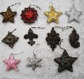 Hand Embroidered Christmas Ornaments 03