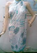 Printed Polyester Pareos 02
