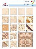 Ivory Print Matt Series Ceramic Glazed Floor Tiles (300x300mm)