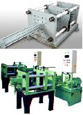 Gravity die casting system