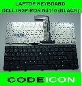 FOR DELL N4110 BLACK LAPTOP KEYBOARD