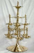 Brass Jyoti Oil Lamp