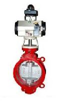 Pneumatically Operated Butterfly Valve