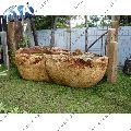 ANTIQUE SANDSTONE GARDEN BATHTUB