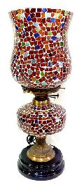 glass oil table lamps