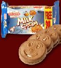milk cream biscuits