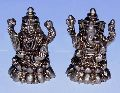 Brass Lakshmi Ganesh Statue