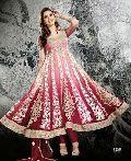 Amber Rust Designer Fashionable Look Long Salwar Suit