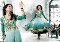Anarkali Style Churidar Salwar Kameez