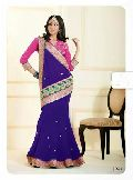 Royal Look Indian Designer Attractive Bollywood Style Witty Saree/sari
