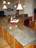 Tropical Green Kitchen Countertops