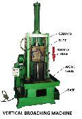 Vertical Push Type Broaching Machine