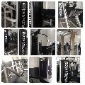 Commercial gym machines