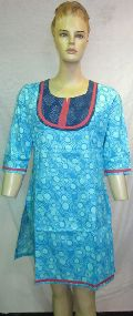 Cotton Printed Fancy Kurtis