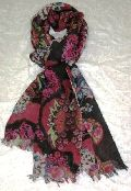 Wool Printed Ladies Shawls