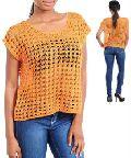 Crochet Girls Top
