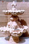 Marble Garden Fountain - 02