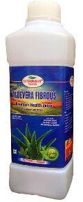Aloevera Fibrous Premium Health juice with Tulsi