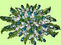 Artificial Flowers Chocolate Bouquet