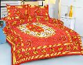 Hand Printed Double Bed Sheets