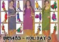 Holiday-3 Bhagalpuri Silk Dress Material