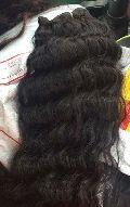 Remy Single Drawn Natural Wavy Hairs