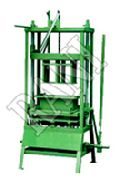 MANUAL HOLLOW & SOLID BLOCK MAKING MACHINES